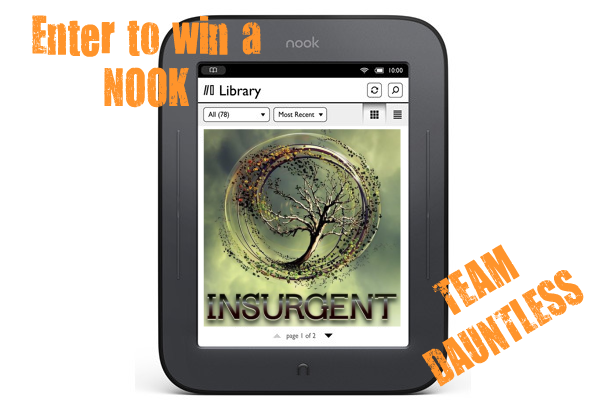 Support #TeamDauntless and sign up to win a NOOK!