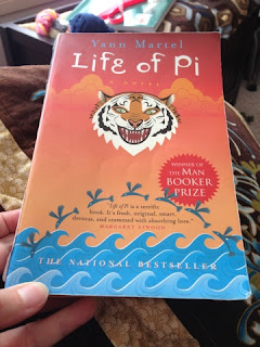 Yann Martel, Life of Pi, finished book