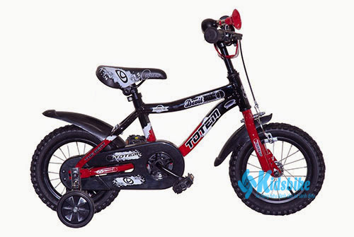Xe đạp Totem AL802 màu đen - đỏ