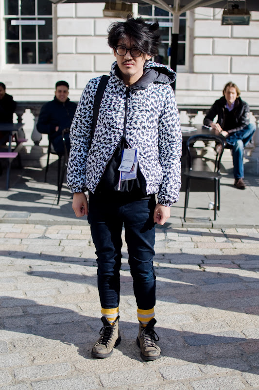 Haruki Horikawa at London Fashion Week