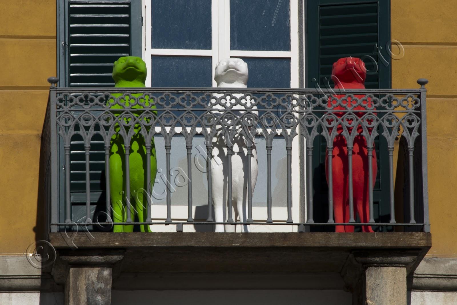 Fotografie Cracking Art Incursion in Cuneo