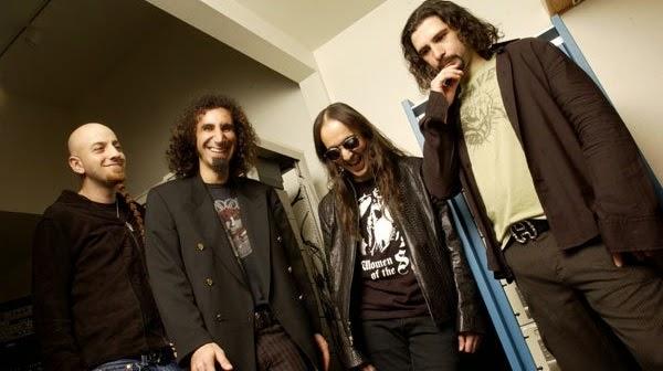 SOAD é listado entre as melhores bandas americanas de metal