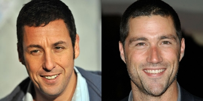 Matthew Fox and adam sandler