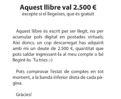 2500€ si no el llegeixes