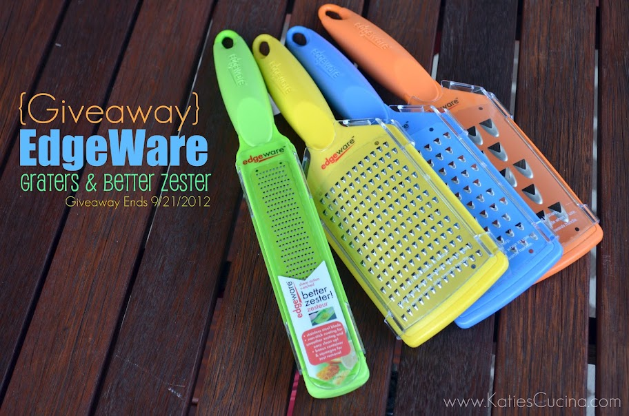 Giveaway: EdgeWare Graters & Better Zester (ends 9/21/2012)
