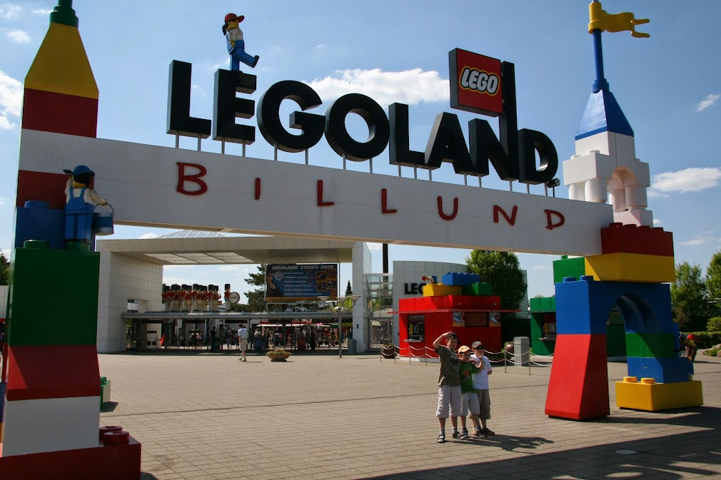Legoland Billund entrée