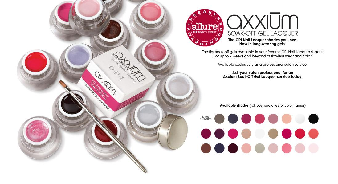 Must Have Monday: Axxium Gel Manicure by OPI