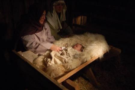 Ziemassvētkos – Kristus dzimšanas dienā