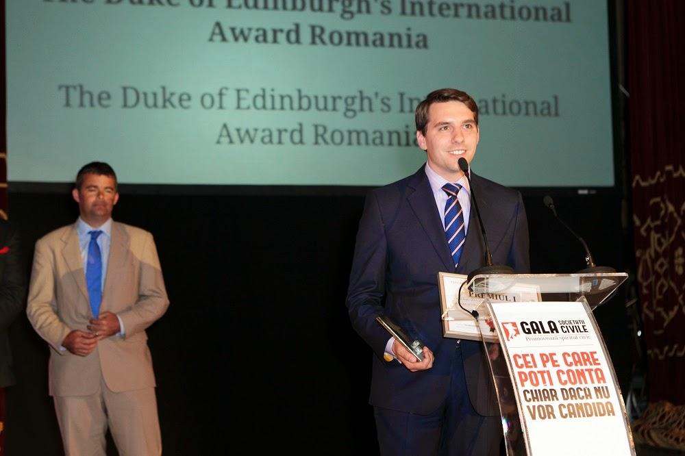 Principele Nicolae, la Gala Societății Civile 2014