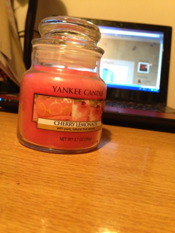 Yankee Candle Cherry Lemonade