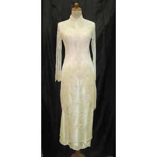 KEBAYA PENGANTIN MODERN 2011 Kebaya Pengantin Terbaru 2011 Model Busana Baju Kebaya Pernikahan Wanita Muslimah