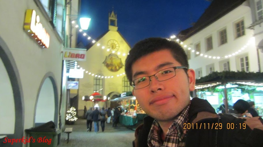 我在Feldkirch舊城的聖誕市集!!!