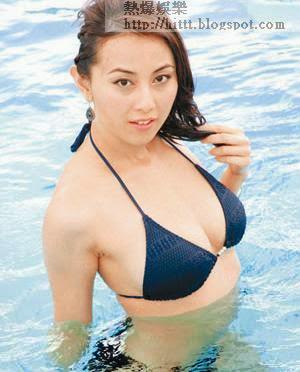 港姐出身的袁嘉敏有望挑戰憑《赤裸羔羊》爆紅的邱淑貞!(資料圖片)
