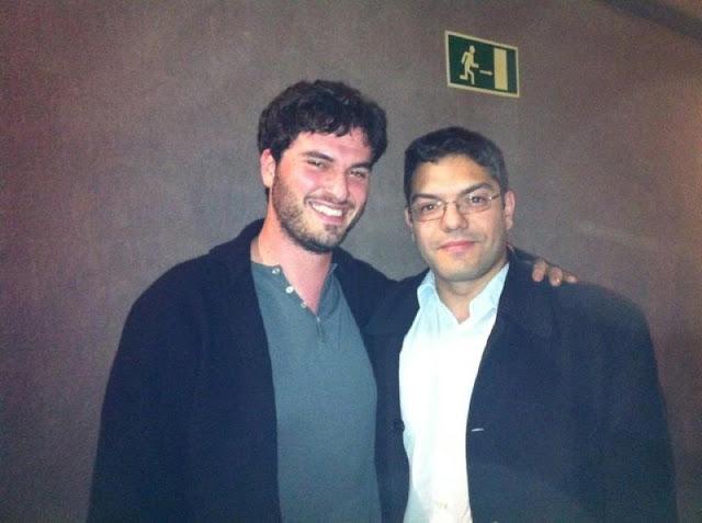 Gustavo Martín junto a Josh Trank