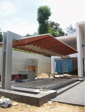 Brick construye for Asadores modernos jardin