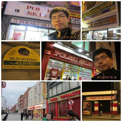 都柏林到處都是波蘭商店!!!!