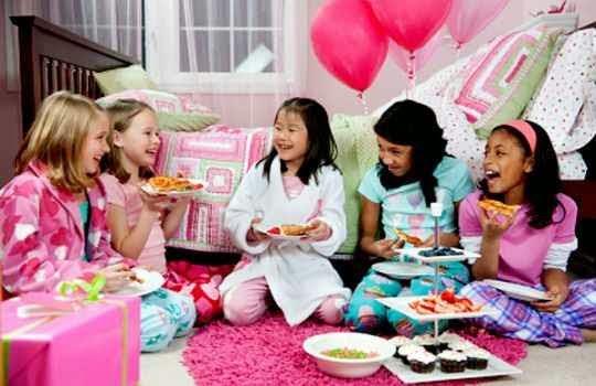 Fiesta de pìjamas para niñas
