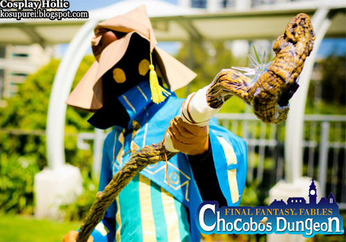 final fantasy fables: chocobo's dungeon cosplay - croma by martin