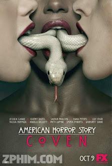 Chuyện Kinh Dị Mỹ 3: Hội Phù Thủy - American Horror Story Season 3: Coven (2013) Poster