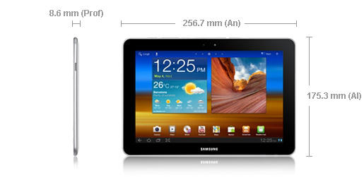 Samsung Tab P7500 M16 tablet tableta android