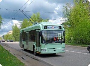 Тверской троллейбус отметил 45-летие