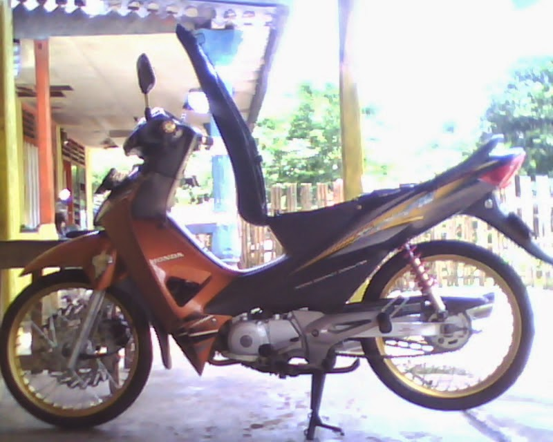 modifikasi motor supra fit 2007