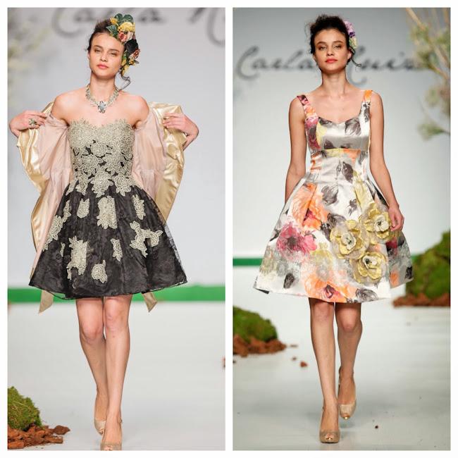 CARLA RUIZ: Vestidos de fiesta, colección 2014