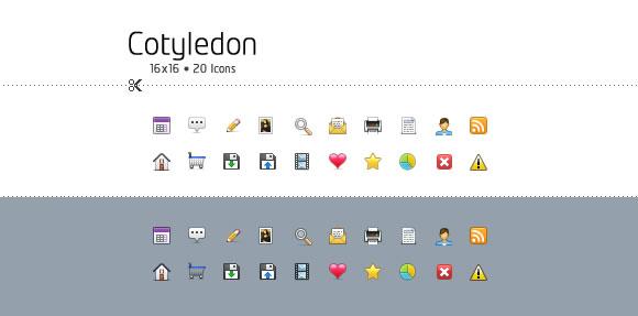 Cotyledon Mini Icons