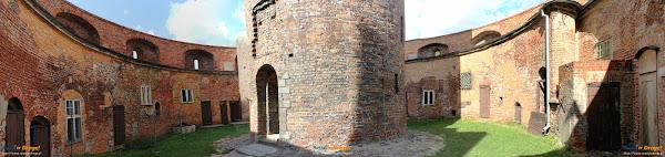 panoramaTwierdzy Wisłoujście w Gdańsku