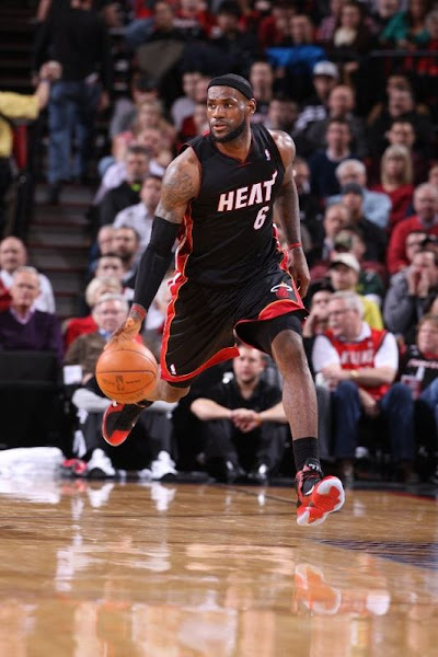 Miami8217s Tough Loss in Utah LeBron Debuted new PEs in Porland