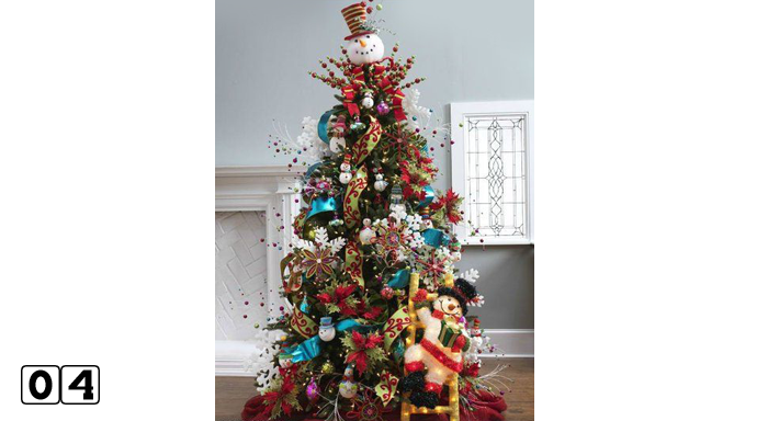 Christmas Tree Decorating Ideas Look Great with Picture 004