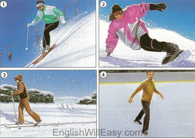 Cross country skiing going uphill with manual transmission