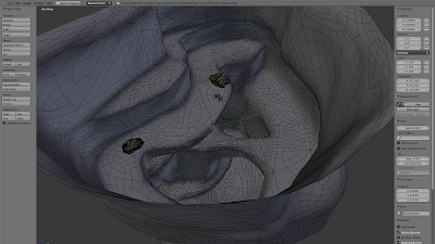 GreenCave Scene Geometry