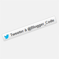 Blogger Code - Twitter : Bouton mentionner [Mention button]