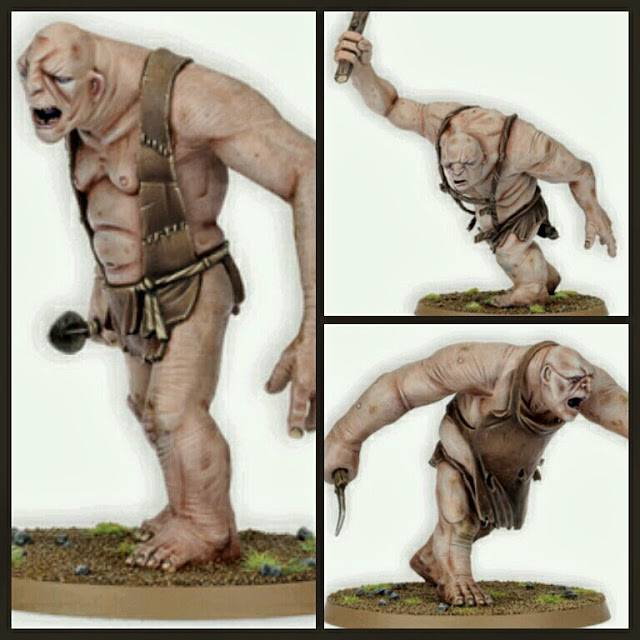 Trolls el Hobbit Games Workshop