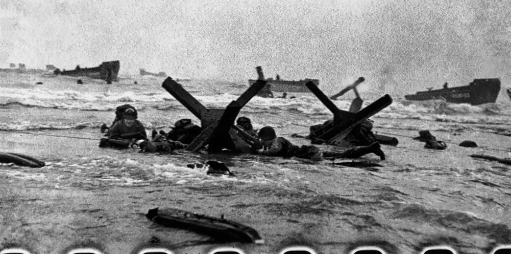 Praia de Omaha, 1944