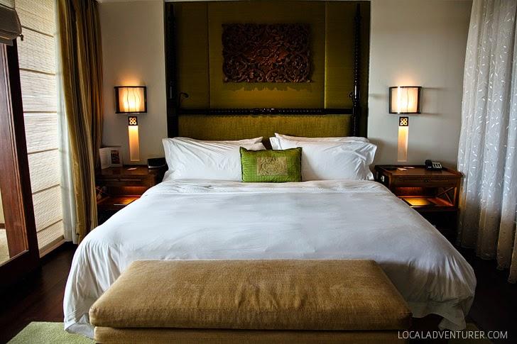 The St Regis Bali Resort Suite.
