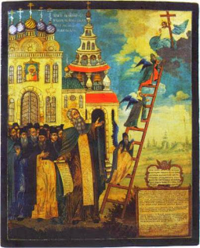 Saint John Of The Ladder As A Model For Our Lives