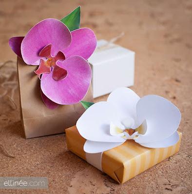 Orquídea de papel