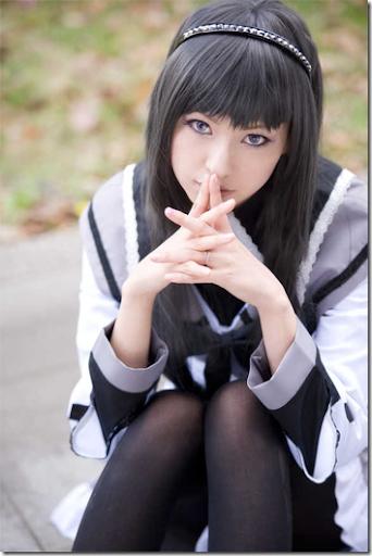 mahou shoujo madoka magica / puella magi madoka magica cosplay - akemi homura by mai