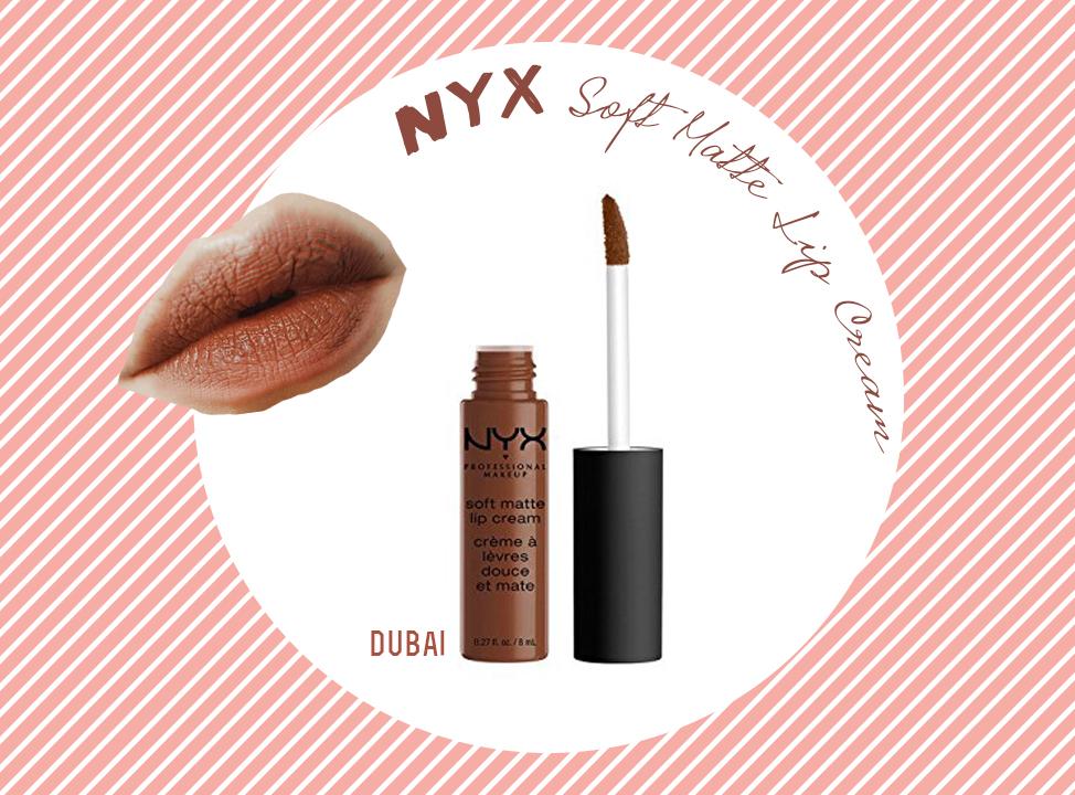NYX Soft Matte Lip Cream – Màu Dubai