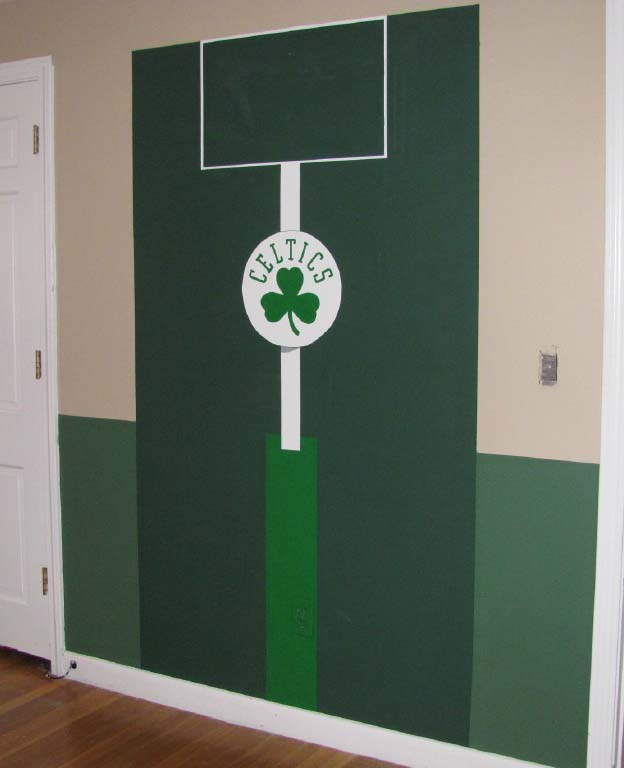Red Sox Bedroom Paint