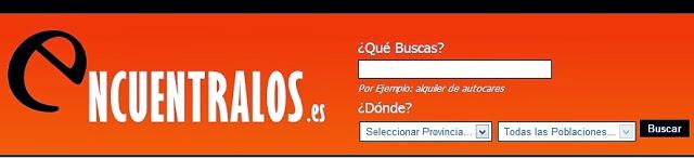'Encuentralos', un directorio empresarial de España