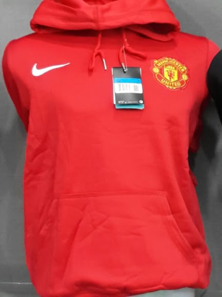 Jual Hoodie Manchester United Merah 2014