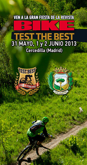 'Test The Best 2013' la fiesta del MTB en Cercedilla