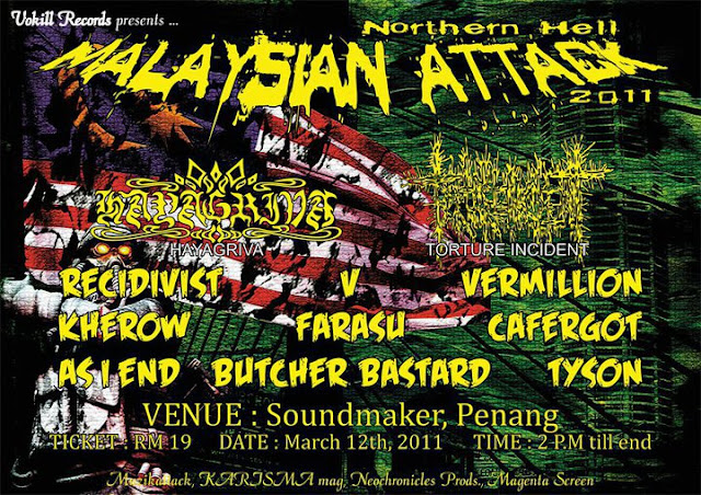 Event Malaysian Attack Northern Hell 2011