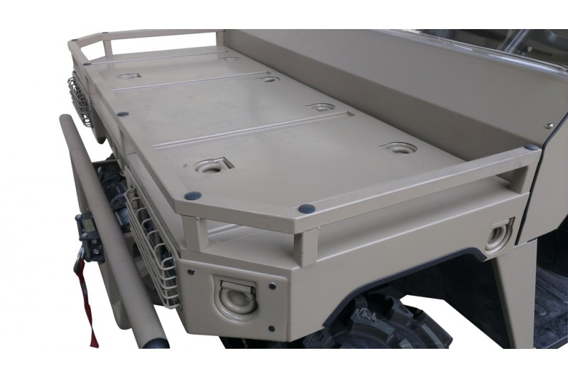 500cc Military Agmax Farm UTV Side By Side front Tray