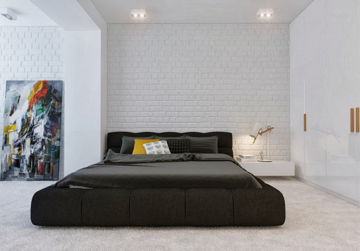 Best decoration ideas for Minimalist grey bedroom