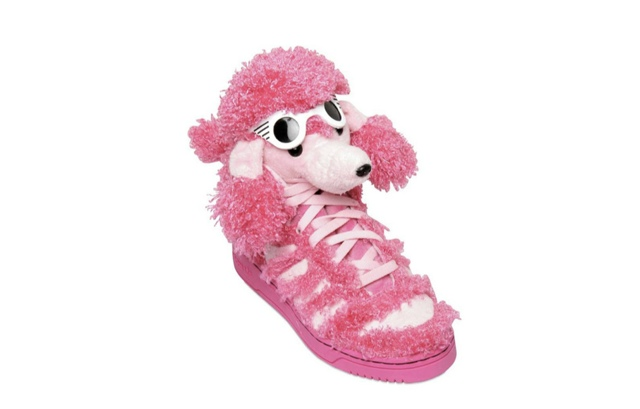 Jeremy Scott Poodle Shoes Size