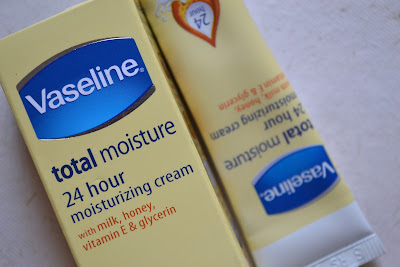 vaseline total moisture 24 hour moisturizing cream
